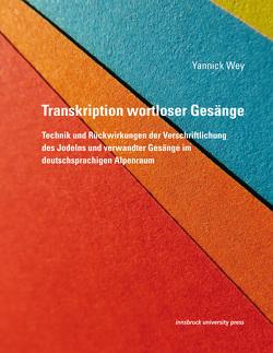 Transkription wortloser Gesänge von Wey,  Yannick