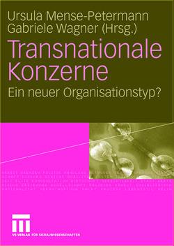 Transnationale Konzerne von Mense-Petermann,  Ursula, Wagner,  Gabriele
