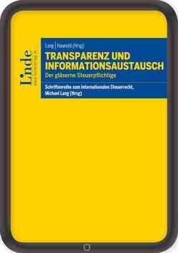 Transparenz und Informationsaustausch von Haunold,  Peter, Lang,  Michael