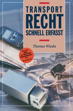 Transportrecht von Wieske,  Thomas