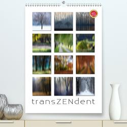 Transzendent (Premium, hochwertiger DIN A2 Wandkalender 2021, Kunstdruck in Hochglanz) von Cross,  Martina