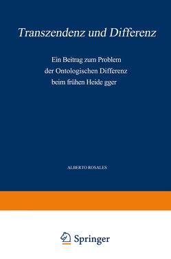 Transzendenz und Differenz von Rosales,  Alb.