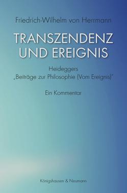 Transzendenz und Ereignis von Herrmann,  Friedrich-Wilhelm von