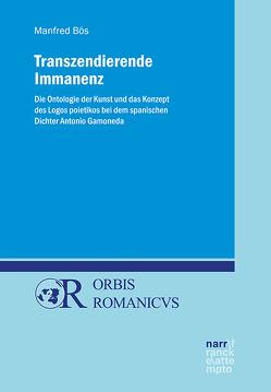 Transzendierende Immanenz von Boes,  Manfred