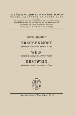 Traubenmost, Wein, Obstwein von Füger,  August, Österreich,  Architektur Stiftung