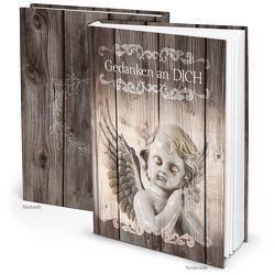 Trauerbuch mit Engel – Tagebuch zum Einschreiben; 148 Seiten DIN A5 von Dietl,  Jeanette