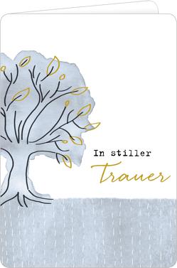 Trauerkarte – In stiller Trauer (Baum) von Sander,  Gesa