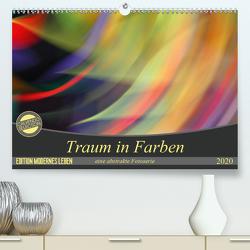 Traum in Farbe – eine abstrakte Fotoserie (Premium, hochwertiger DIN A2 Wandkalender 2020, Kunstdruck in Hochglanz) von Wilson Kunstmotivation GbR,  Cristina