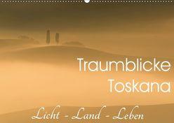 Traumblicke Toskana – Licht, Land, Leben (Wandkalender 2019 DIN A2 quer) von van der Wiel www.kalender-atelier.de,  Irma