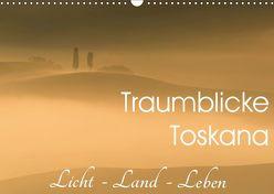 Traumblicke Toskana – Licht, Land, Leben (Wandkalender 2019 DIN A3 quer) von van der Wiel www.kalender-atelier.de,  Irma