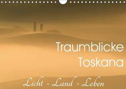 Traumblicke Toskana – Licht, Land, Leben (Wandkalender 2019 DIN A4 quer) von van der Wiel www.kalender-atelier.de,  Irma