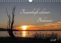 Traumhaft schöner Bodensee (Wandkalender 2018 DIN A4 quer) von Christine Horn,  BlattArt