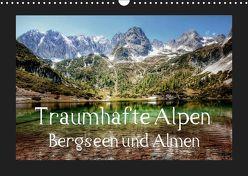Traumhafte Alpen – Bergseen und Almen (Wandkalender 2019 DIN A3 quer) von - Uwe Vahle,  Kordula