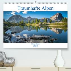 Traumhafte Alpen (Premium, hochwertiger DIN A2 Wandkalender 2020, Kunstdruck in Hochglanz) von Ziereis,  Florian
