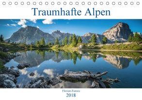 Traumhafte Alpen (Tischkalender 2018 DIN A5 quer) von Ziereis,  Florian