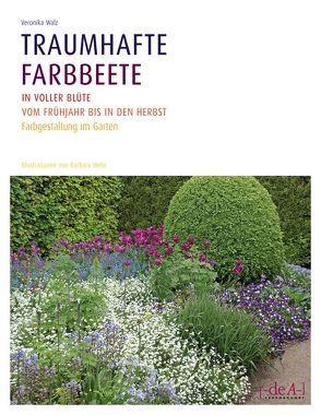 Traumhafte Farbbeete in voller Blüte vom Frühjahr bis in den Herbst von Walz,  Veronika