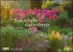 Traumhafte Gartenbeete – Fotografiert von Clive Nichols – Wandkalender – Format 42 x 29,7 cm von DUMONT Kalenderverlag, Nichols,  Clive