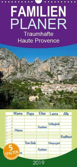 Traumhafte Haute Provence – Familienplaner hoch (Wandkalender 2019 , 21 cm x 45 cm, hoch) von Voigt,  Tanja