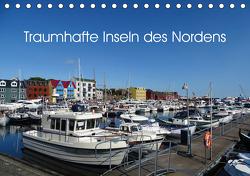 Traumhafte Inseln des Nordens (Tischkalender 2020 DIN A5 quer) von und R. Lindner,  M.