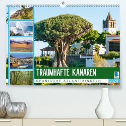 Traumhafte Kanaren: Spanische Atlantikinseln (Premium, hochwertiger DIN A2 Wandkalender 2020, Kunstdruck in Hochglanz) von CALVENDO