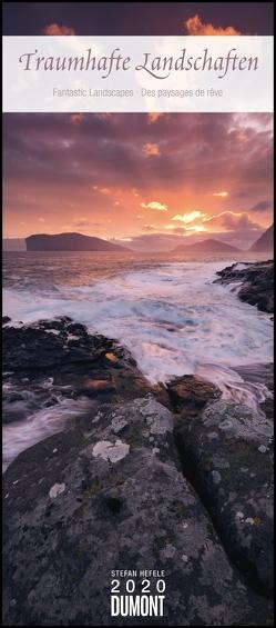 Traumhafte Landschaften 2020 – DuMont Wandkalender – mit den wichtigsten Feiertagen – Hochformat 30,0 x 68,5 cm von DUMONT Kalenderverlag, Hefele,  Stefan