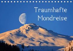 Traumhafte MondreiseAT-Version (Tischkalender 2021 DIN A5 quer) von Kramer,  Christa