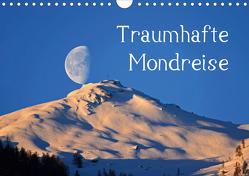 Traumhafte MondreiseAT-Version (Wandkalender 2021 DIN A4 quer) von Kramer,  Christa