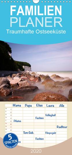 Traumhafte Ostseeküste – Familienplaner hoch (Wandkalender 2020 , 21 cm x 45 cm, hoch) von Blumenschein,  Katrin