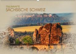 Traumhafte Sächsische Schweiz (Wandkalender 2018 DIN A2 quer) von Meutzner,  Dirk