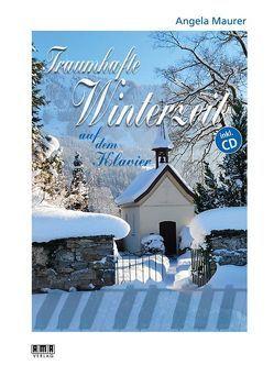 Traumhafte Winterzeit auf dem Klavier von Maurer,  Angela