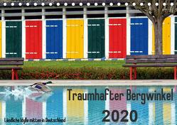 Traumhafter Bergwinkel 2020 – Ländliche Idylle mitten in Deutschland (Tischkalender 2020 DIN A5 quer) von Ehmke,  E.