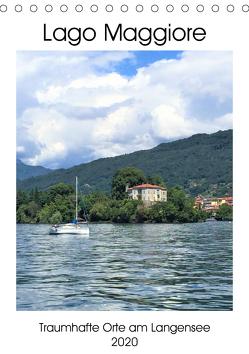 Traumhafter Lago Maggiore (Tischkalender 2020 DIN A5 hoch) von Konkel,  Christine