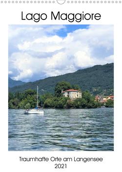 Traumhafter Lago Maggiore (Wandkalender 2021 DIN A3 hoch) von Konkel,  Christine