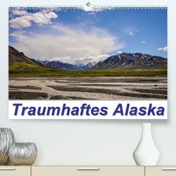 Traumhaftes Alaska (Premium, hochwertiger DIN A2 Wandkalender 2021, Kunstdruck in Hochglanz) von Wenk,  Marcel
