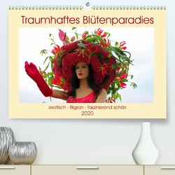 Traumhaftes Blütenparadies (Premium, hochwertiger DIN A2 Wandkalender 2020, Kunstdruck in Hochglanz) von Junghanns,  Konstanze