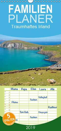 Traumhaftes Irland – Familienplaner hoch (Wandkalender 2019 , 21 cm x 45 cm, hoch) von Kuttig,  Siegfried