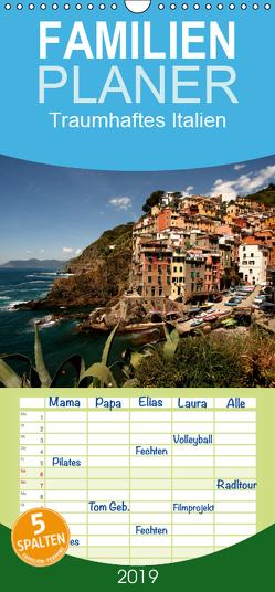 Traumhaftes Italien – Familienplaner hoch (Wandkalender 2019 , 21 cm x 45 cm, hoch) von Schickert,  Peter