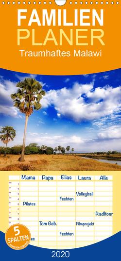 Traumhaftes Malawi – Familienplaner hoch (Wandkalender 2020 , 21 cm x 45 cm, hoch) von Woyke,  Wibke