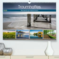 Traumhaftes Mecklenburg-Vorpommern (Premium, hochwertiger DIN A2 Wandkalender 2020, Kunstdruck in Hochglanz) von Wasilewski,  Martin