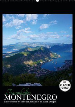 Traumhaftes Montenegro – Entdecken Sie die Perle der Adria im Süden Europas (Wandkalender 2019 DIN A2 hoch) von Informationsdesign,  SB