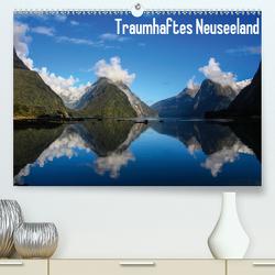 Traumhaftes Neuseeland (Premium, hochwertiger DIN A2 Wandkalender 2021, Kunstdruck in Hochglanz) von Haberstock,  Matthias