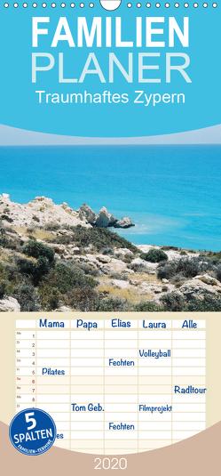 Traumhaftes Zypern – Familienplaner hoch (Wandkalender 2020 , 21 cm x 45 cm, hoch) von Fehske-Egbers,  Iris, Rosenkatzen-Fotografie