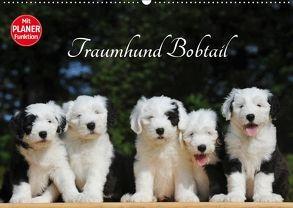 Traumhund Bobtail (Wandkalender 2018 DIN A2 quer) von Starick,  Sigrid