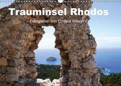 Trauminsel Rhodos (Wandkalender 2019 DIN A3 quer) von GbR,  Kunstmotivation, Wilson,  Cristina