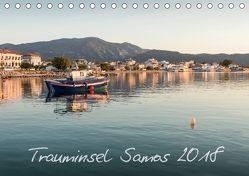 Trauminsel Samos (Tischkalender 2018 DIN A5 quer) von Blessing-Volle,  Anja