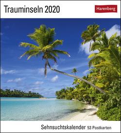 Trauminseln Kalender 2020 von Harenberg