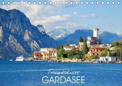 Traumkulisse Gardasee (Tischkalender 2021 DIN A5 quer) von Manz,  Katrin