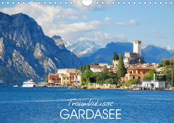 Traumkulisse Gardasee (Wandkalender 2021 DIN A4 quer) von Manz,  Katrin