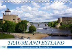 Traumland Estland – Erkundungen zwischen Saka und Narva (Tischkalender 2019 DIN A5 quer) von von Loewis of Menar,  Henning