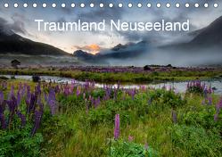 Traumland Neuseeland (Tischkalender 2019 DIN A5 quer) von Alicke,  Björn